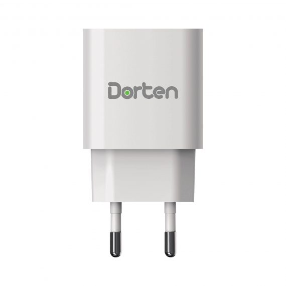 2-Port USB 18W Wall Quick Charger PD+QC3.0_0