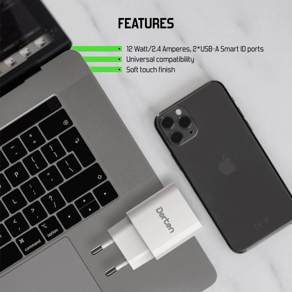 2-Port USB 18W Wall Quick Charger PD3.0+QC3.0_6
