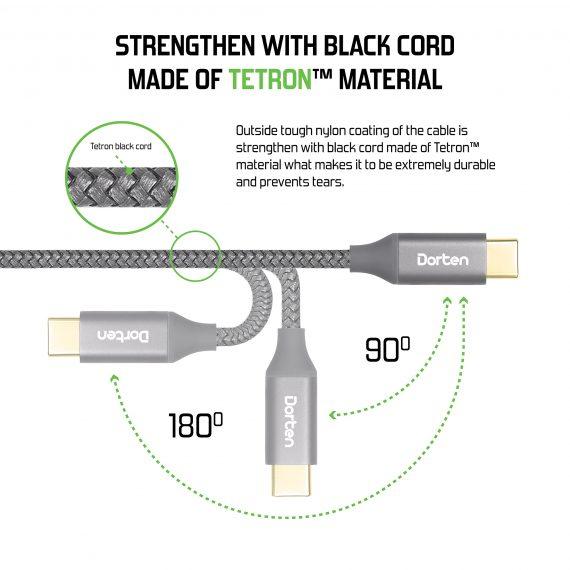 Tetron black corde